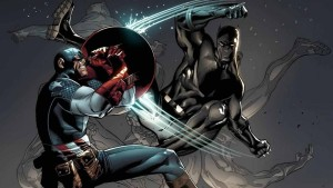 Captain America Is Defeated By The Black Panther during An Invasion Of His Homeland, Wakanda.